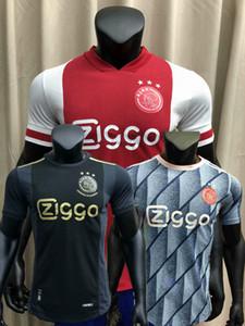 Игрок версия 20 21 Ajax Soccer Jersey AFC Amsterdam Neres Huntelaar Слепые выпуски TADIC 2020 2021 футболист плотная рубашка
