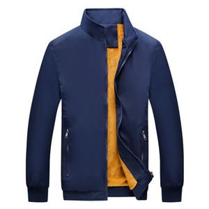 Mens Coat Jacket Autumn Winter Windbreaker Coat Thick Outwear Jackets Asian Size Men Clothing M-5XL