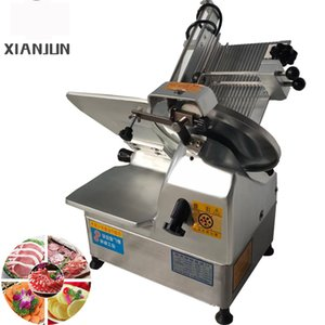 2020 Factory Direct Electric Slicer Slicer Viande Consommateur et Commercial Desktop Agneau Hot Pot Ham Slicer Épaisseur Réglable 220V