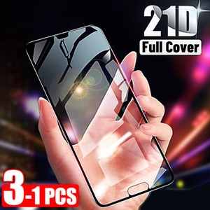 21d Screen Protector For Huawei P20 Lite P30 Pro Tempered Glass For Huawei P Smart Z Y6 2019 Mate 20 Pro Lite 30 Glass