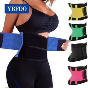 YBFDO Womens Shaper Unisex Waist Cincher Trimmer Tummy Slimming Belt Body Shapers Waist Trainer Woman Postpartum Corset Shaper