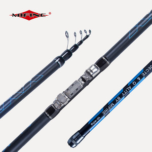 MIFINE MEDIUM Telescopic Bolo Fishing Rod 4M 4.5M 5M 6M Ultra Light High Carbon Fiber Travel Fishing Float 10-40g Bolognese 201022