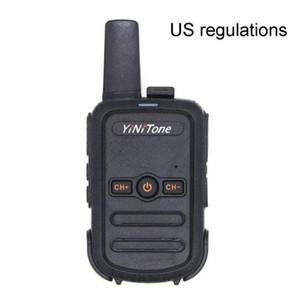 High Quality Batteries Walkie Talkie T17 Mini Walkie Talkie Built-in Antenna Portable Radio Convenient USB Charging Design