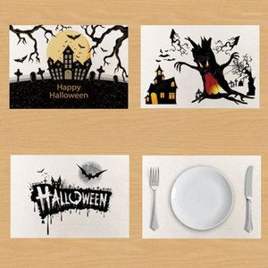 Hot Pumpkin Table Napkin Halloween Linen Napkins Towel Placemat Table Mat servilletas onderzetters posavasos1