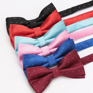 1pair Cufflinks For Mens Luxury Busines Solid Fashion Shirt Tie Clip Bowtie Men Wedding Party Accessories Wholesales Cu qylAZC