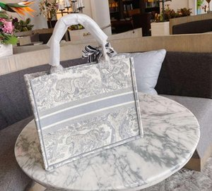 bolsa de ombro das flores artesanais de viagem dupla face 2020 nova tigre bordado grande luxo capacidade grande de compras marca bolsa saco Bolsa feminina