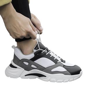 الجديد الأكثر شعبية فاهيون الاحذية أسود أبيض رمادي وثلاثة ألوان الأحذية Desigern رجل عداء المرأة أحذية رياضية