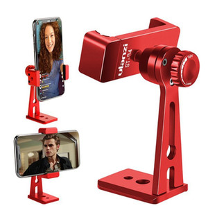Verstellbare Universal Metall 360 Grad drehbare intelligentes Telefon Tripod Mount Adapter Clip Ständer Selbstauslöser Rotation Kamerahalterung