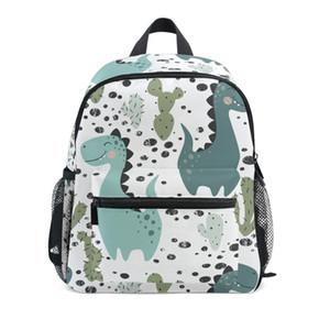 Nette Dinosaurier Kinder Schultaschen für Jungen Kindergarten-Schule-Rucksäcke für Mädchen kreative Tiere Buch Kindertasche Mochila Infantil