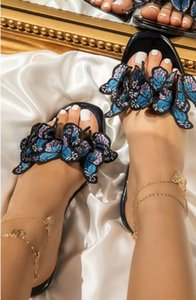 Xm5r XMISTUO Hand-made slippers flowers new women's slippers casual with elastic belt flip-flops sandals beautiful fashion wear beach s