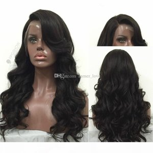 180% density 8A Brazilian 100% unprocessed human virgin Beached Knots natural color full lace lace front wig for black women with baby hair