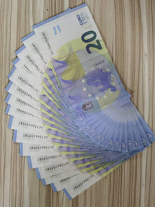 EUROS de alta calidad PROPORTE MONEY BALLET 20/50 Euros Fake Money Play Money 100pcs / Pack Envío gratis