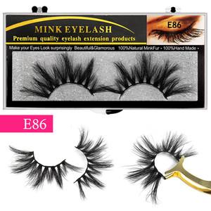 Eyelashes 25mm False Eyelashe Fluffy Soft Eyelash Dramatic Makeup Lashes Mink 3d Lash Natural Long