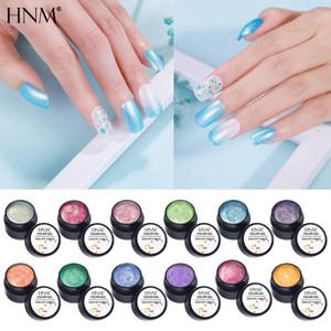 HNM Mermaid Legend Gel Nail Polish Glitter Bling UV LED Soak Off Long Lasting Nail Varnish Primer GelLak Lacquer 5ML