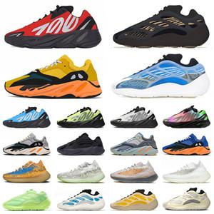adidas yeezy boost 700 v2 v3 kanye west 700 mnvn 380 Koşu Ayakkabısı Bayan Erkek Spor Ayakkabı Azael Alvah Calcite Glow Sun Bone Beyaz Tüm Siyah Vanta Azareth Trainers Eur 36-46