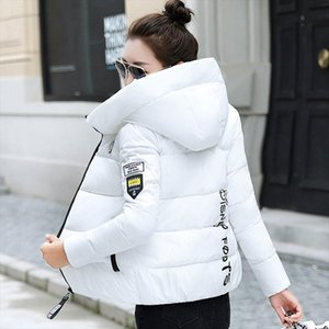2020 New Winter Parkas Women Jacket Hooded Thick Warm Short Jacket Cotton Padded Parka Basic Coat Female Outerwear Plus Size 5XL
