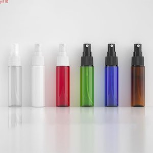 50 x 30ml Empty Makeup Setting Mist SprayerPlastic Bottle 30cc Perfume Cosmetic PET Container Clear Blue Green Whitehigh qualtity