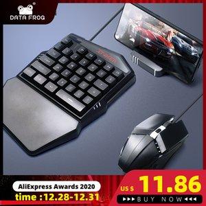 Datenfrosch PUBG Mobile Gamepad Controller Gaming Bluetooth-Tastatur-Maus-Konverter-Stand-USB-Adapter für Android / iOS Q0104