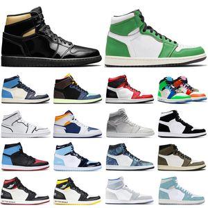 air retro jordan 1 2020 En OG 1 1s Yüksek Düşük Erkekler Kadınlar Basketbol Ayakkabı Obsidian UNC için Chicago Korkusuz Mahkemesi Mor Erkek Eğitmenler Spor Sneakers çevirin