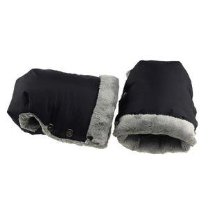 Waterproof Pram Accessory Mitten Winter Warm Stroller Gloves Kids Pushchair Hand Muff Baby By Clutch Cart Outdoor Glove Fall