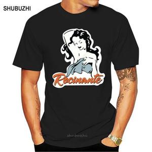 Preto a extensão Rocinante Logo T Shirt Cotton Men S-3XL Us Fornecedor Casual Tendência de Alta Qualidade de Impressão camiseta