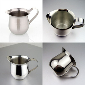 Stainless Steel Draw Flower Cup Sharp Tongue Milkshake Cups With Handle Coffee Milk Mug New Arrival 8 5jg L1