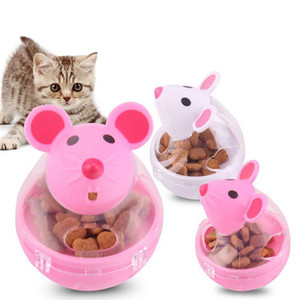Pet Feeder Toy Cat Mice Rolling Leakage Dispenser Bowl Playing Training Educational Toys For Cat Kitten Cats Toy 1PC#15