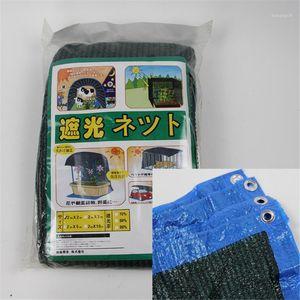 1pc PE plastic dark green planting heat insulation shading net dark green three needle binding gardening products1