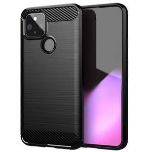 For Google Pixel 4 Xl Case Carbon Fiber Shockproof Anti-knock Soft Silicone Cover for Google Pixel 5 Case for Google Pixel 3XL 5XL