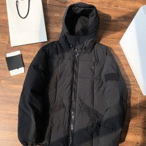 Topstoney Kış Ceket Cyberpunk Rüzgarlık Rahat Kazak Işlemeli Harfler Fermuar Coat Windrunn Erkek Aşağı Moda Streetwear 2 Renk