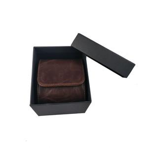 Walite High Quality Тип рулона Однопаковка Часы Box Brown Наручный Час Дисплей