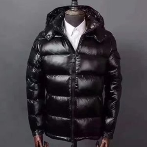 Мужчины зимняя куртка размер удобная мягкая пуховая куртка 90% гусиный вскользь leveda майа моды пальто 1-6