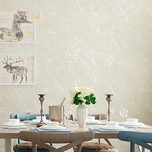 Tapete Solid Color Non-Woven Moderne einfache Marmor Crackle Wand Papierrolle Schlafzimmer Wohnzimmer Tapeten Home Decor
