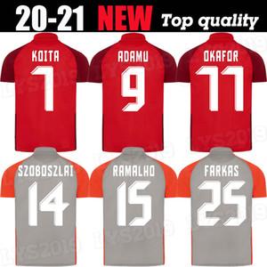 20 RBS Daka Soccer Jerseys Home Ashimeru Koita Hee Chan Camicie da calcio Salisburgo Prevljak Szoboszlai Ramalho Soccer Uniform Training 20 21