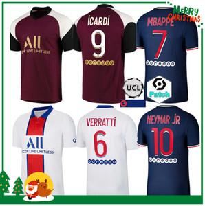 Adult men + kids kit 20 21 soccer jersey 2020 2021 MBAPPE ICARDI NEYMAR shirt JR KIMPEMBE sets uniform maillot de foot hommes enfants