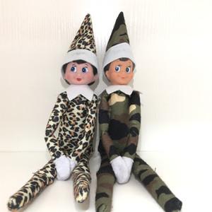 selliing chaud de ventes en gros 10 Styles Doll Elf Noël en peluche Elfes Père Noël Vêtements poupées pour enfants Cadeaux de Noël 07