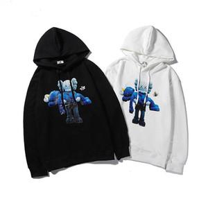 2020 Top-Hoodie Designer Männer Frauen Baumwoll-Pullover Hoodie Mode Langarm-Print PulloverHoodies Street Sweatershirt