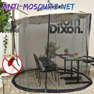 Outdoor Camping Hiking Tent Sun Shelter Sunshade Anti-mosquito Net Gazebo Umbrella Canopy Gauze Cover Double Door Curved Column1