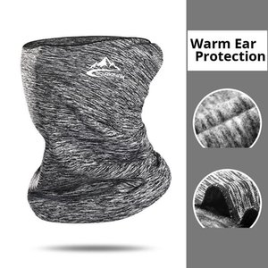 New Cycling Winter Cycling Hats Fleece Neck Warmer Bandana magic scarf neck dustproof mask Sports Scarf Face Headband With Mask
