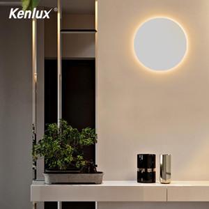 Envío libre 6W Ronda cuadrados llevó la lámpara de pared interior de la sala Dormitorio Baño Inicio Iluminación decorativa luces montadas en superficie