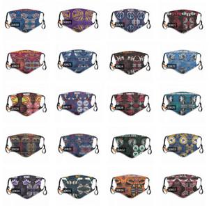 2020 дизайнер маски лучших мужчин и женщин моды маска для лица Маски Basketbal Face моющиеся защитные Персонализированные Роскошные маски DHL Бесплатная доставка