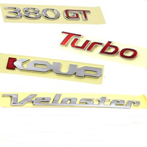 for Hyundai for kia 380GT TURBO KOUP Veloster logo Emblem