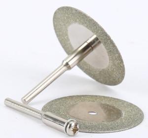 Tools 10pcs 35mm Accessories Stone Jade Glass Diamond Dremel Cutting Disc Fit Rotary Tool Drills Tool W jllVLr mxyard