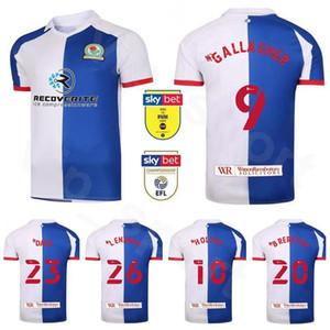 20 21 Football Blackburn Rovers 7 Adam Armstrong Jersey 4 Bradley Johnson 39 Tyrhys Dolan 8 Joe Rothwell Lewis Holtby de football Kits chemise