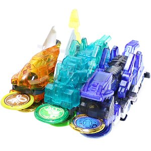 Newest Burst Speed Screechers Wild Transformation Car Action Figures Multiple Chip Capture Wafer 360 Flipping Morphing Toy