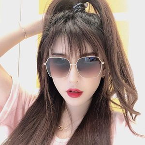 Sunglasses, Female Anti Uv Gm Sunglasses 2019 New Style Ins Tiktok, Male Voice, Red Voice