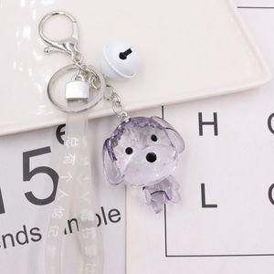 2020 Diseñador Lleve de lujo Llavero Dados Dados Combinación Hombres Mujeres Metal Llavero Partido Regalo Diseño Coche Tecla de Marca Titular de la llave con caja de regalo