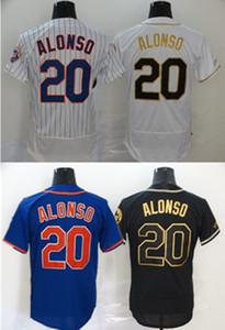 Özel 20 Pete Alonso 20 21 Formalar 48 Jacob Degrom Çilek Wilson Hernandez Dwight Davis Piazza McNeil Strom Beyzbol Forması