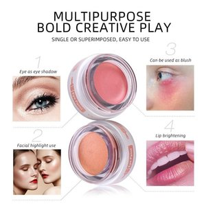 5 Colors Fashion Monochrome Pearlescent Eyeshadow Stage Makeup Brightening Eye Shadow Powder High Pearl Glitter Powder Makeup Y1