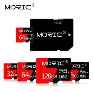 El más reciente class10 de tarjeta de 64G SD Micro SD de 128 GB 256 GB TF Tarjetas Cartao De Memoia tarjeta de memoria microSD con el adaptador libre